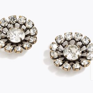 J.Crew Snowflake Stud Earrings